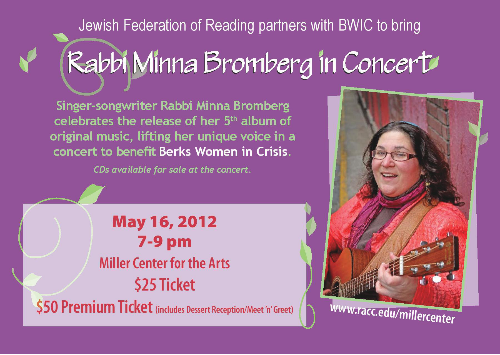 May 16 concert to benefit BWIC